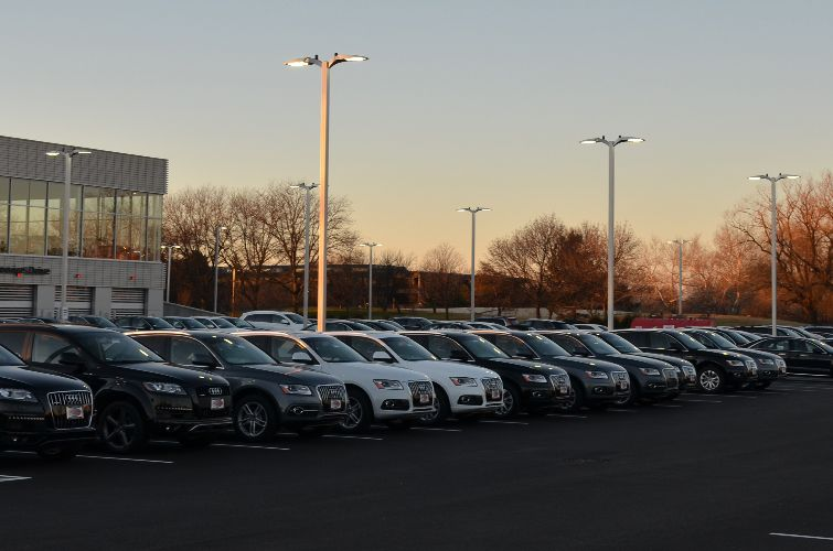 Visionaire VLX LED Automotive Dealership Lighting Solutions